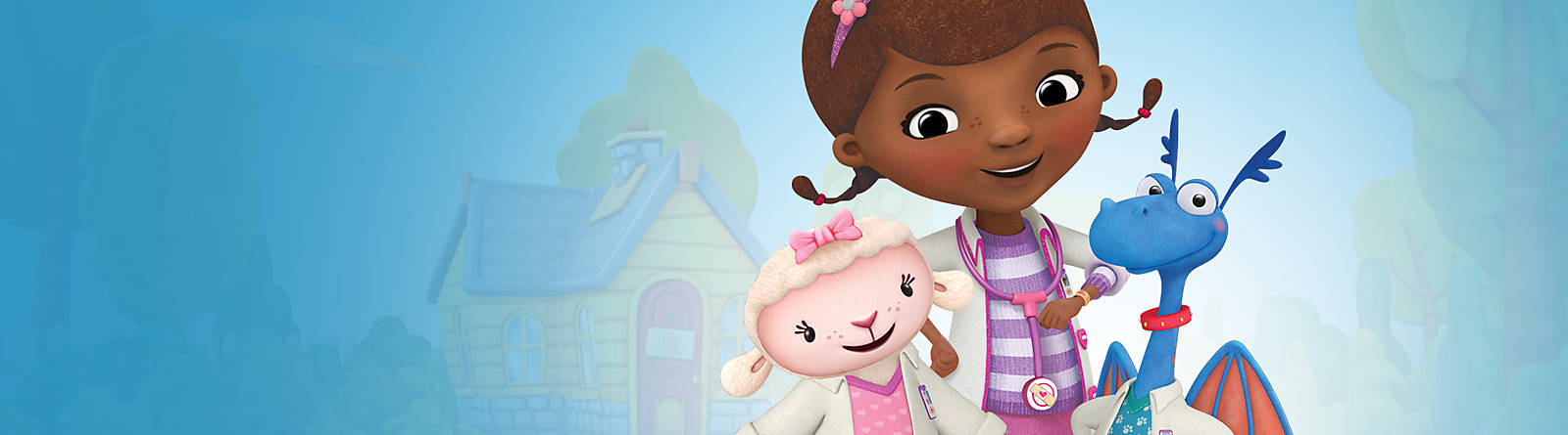Doc McStuffins Discover our exciting range of Doc McStuffins merchandise, including toys, playsets and costumes
