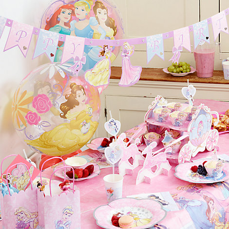 Exclusive Princess Tableware & Decorations