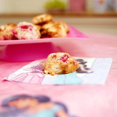Princess Coconut & Raspberry Macaroons Recipe