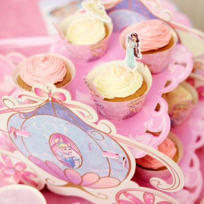 Princess Blueberry Cupcake Recipe