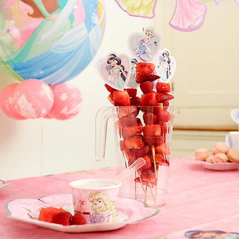 Princess Watermelon & Red Berry Kebab Recipe