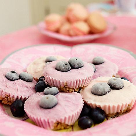 Princess Frozen Yoghurt & Granola Cupcake Recipe