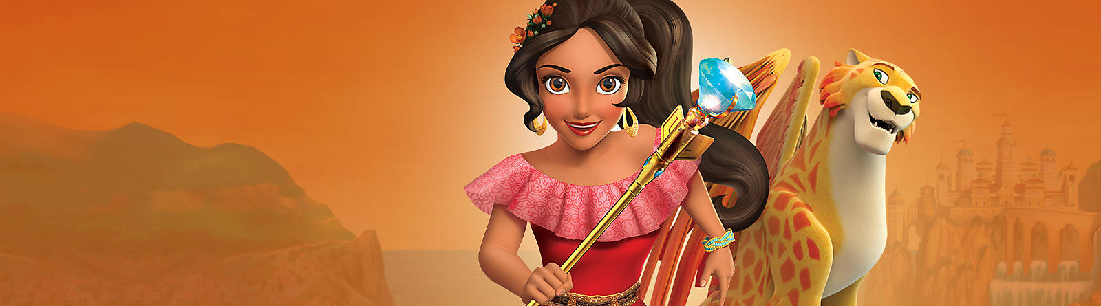 Elena of Avalor Discover our wonderful range of Elena of Avalor soft toys, costumes, clothing and more