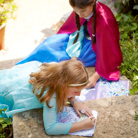 Frozen Colouring Game