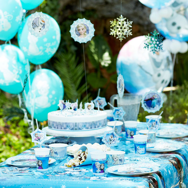 Frozen Tableware & Decorations