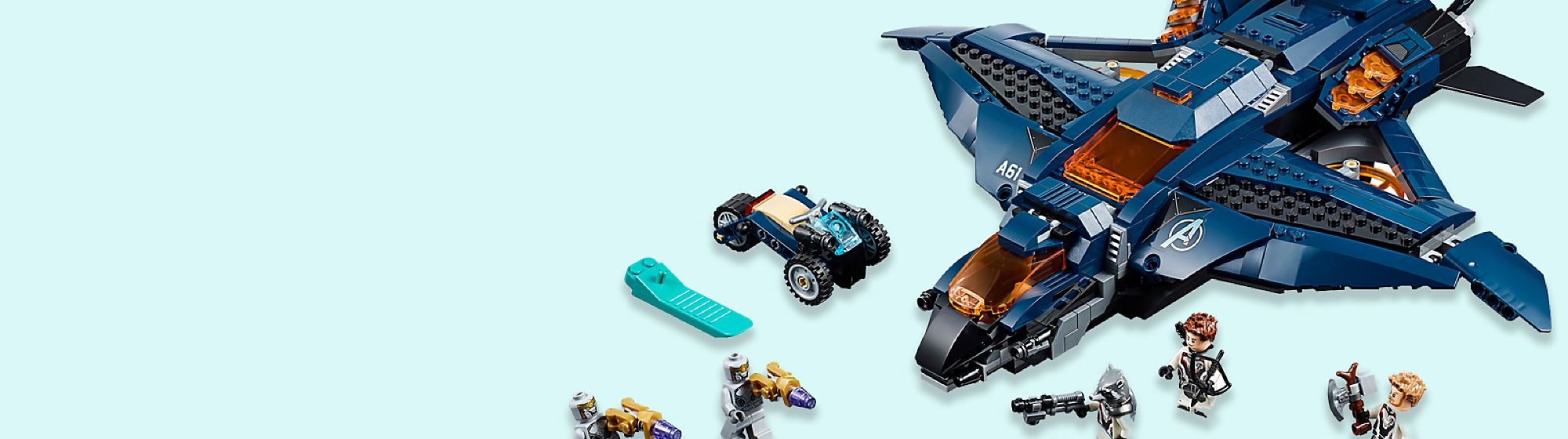 Construction Get building with our range of construction toys from Disney, Pixar, Star Wars and Marvel
