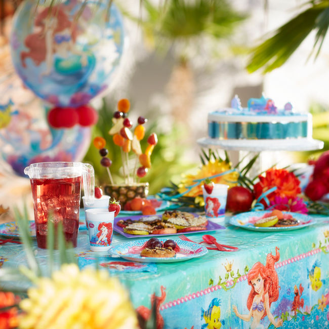 The Little Mermaid Tableware & Decorations