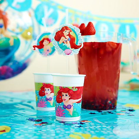 The Little Mermaid Inspired Pomegranate & Strawberry Infused Water Recipe