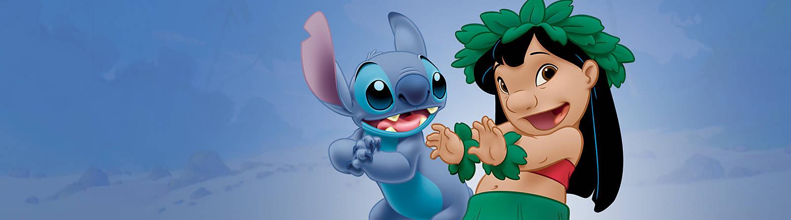 Lilo e Stitch Scopri la nostra esclusiva gamma articoli Disney dedicati ai personaggi di Lilo & Stitch, tra cui dolci peluche, vestiti alla moda, preziosi oggetti da collezione, articoli per la casa e tanto altro ancora per rivivere le avventure di Lilo e di Stich