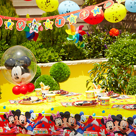 Mickey Mouse Tableware & Decorations
