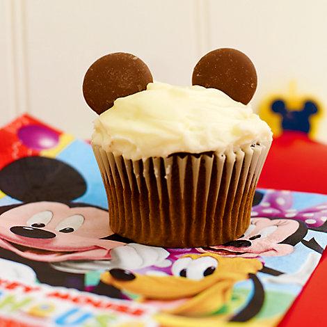 Mickey Mouse Cupcake Recipe