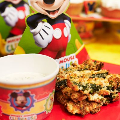 Mickey Mouse Courgette Fries Recipe