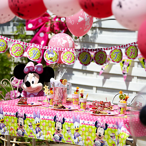 Minnie Mouse Tableware & Decorations