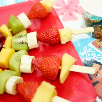 Moana Tropical Fruit Skewer Recipe