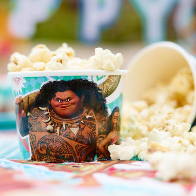Moana Coconut Popcorn Recipe