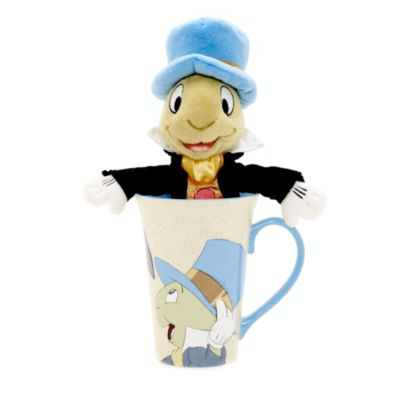 Jiminy Cricket Mug and Soft Toy Set, Pinocchio