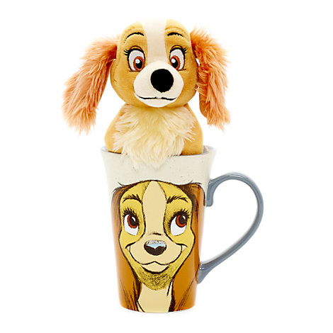 Lady Mug and Soft Toy Set, Lady and the Tramp