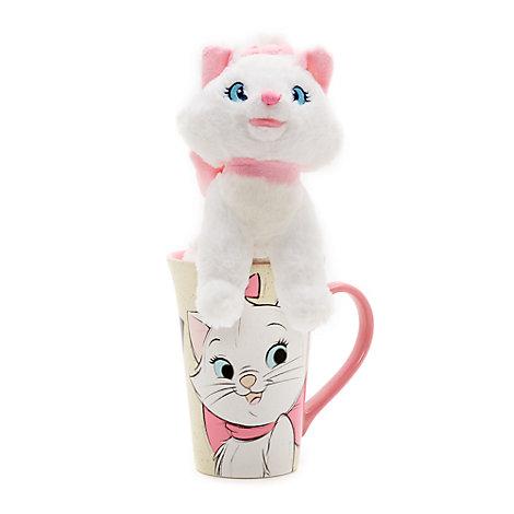 Marie Mug and Soft Toy Set