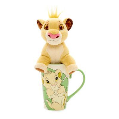 Simba Mug and Soft Toy Set