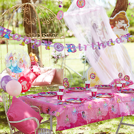 Princess Tableware & Decorations