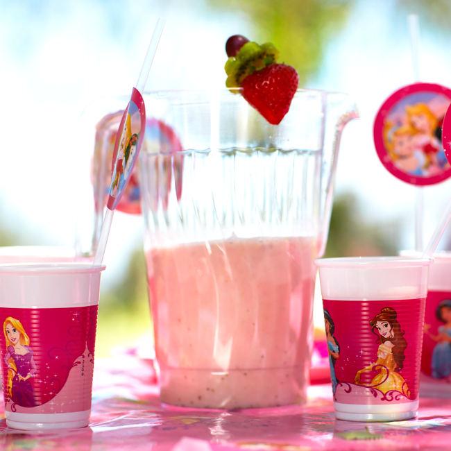 Princess Strawberry Smoothie Recipe