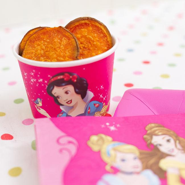 Princess Baked Sweet Potato Crisps Recipe