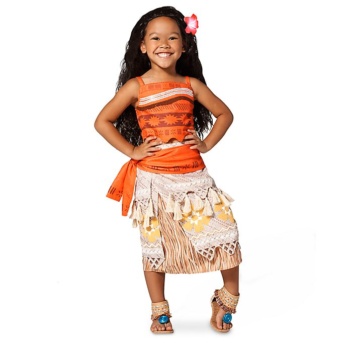 Disney Store Moana Costume Collection For Kids