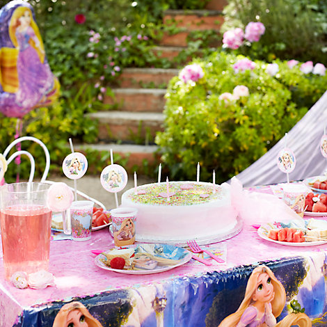 Rapunzel Tableware & Decorations