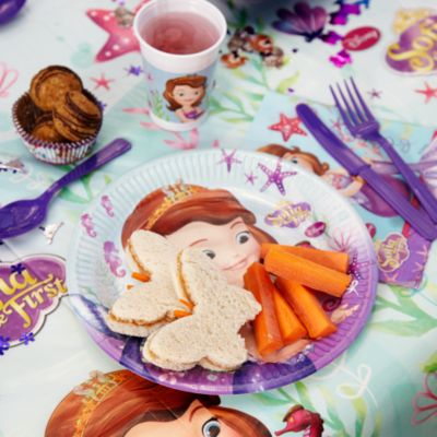 Sofia The First Butterfly Sandwiches