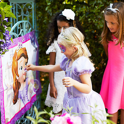 Sofia The First Pin the Amulet Game