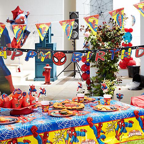 Spider-Man Tableware & Decorations