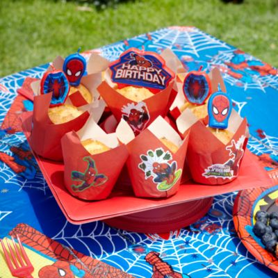 Spider-Man Cupcake Recipe