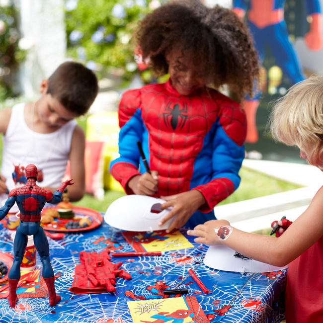 Spider-Man Mask Decorating