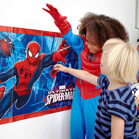 Pin the Badge on Spider-Man