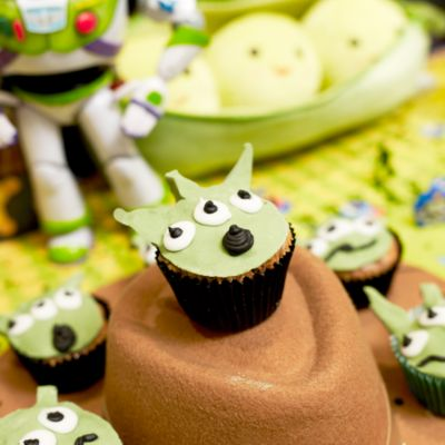 Toy Story Alien Cupcake Recipe