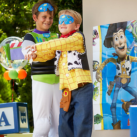 Toy Story Pin The Sheriff Badge Game