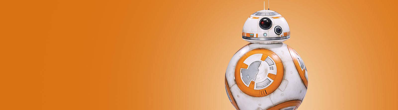 BB-8 La gamme de produits à l'effigie de BB-8 plaira tant aux petits qu'aux grands : peluches, figurines, Lego ou encore chaussettes !