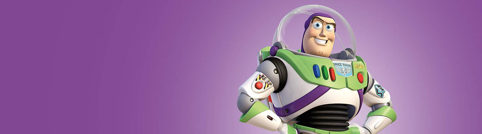 Buzz Lightyear Verso l'infinito e oltre! Scopri tutti i prodotti dedicati ai personaggi di Toy Story come i costumi, le action figure, peluche e giochi