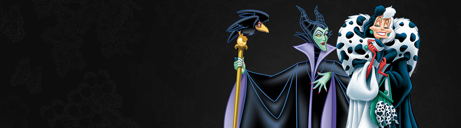 Disney Villains Revel in an array of evil merchandise with products from the Evil Queen, Maleficent and Ursula