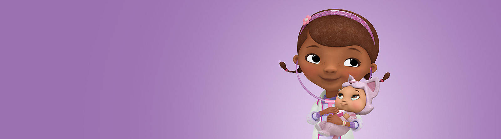 Doc McStuffin Discover our range of Doc McStuffins merchandise, including toys, playsets and costumes