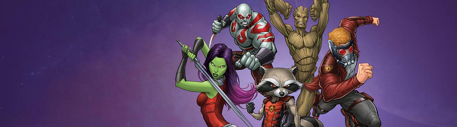 Les Gardiens de la Galaxie Enfilez votre tenue de super-héros et plongez au cœur de l'action, en mission dans le cosmos avec Les Gardiens de la Galaxie !