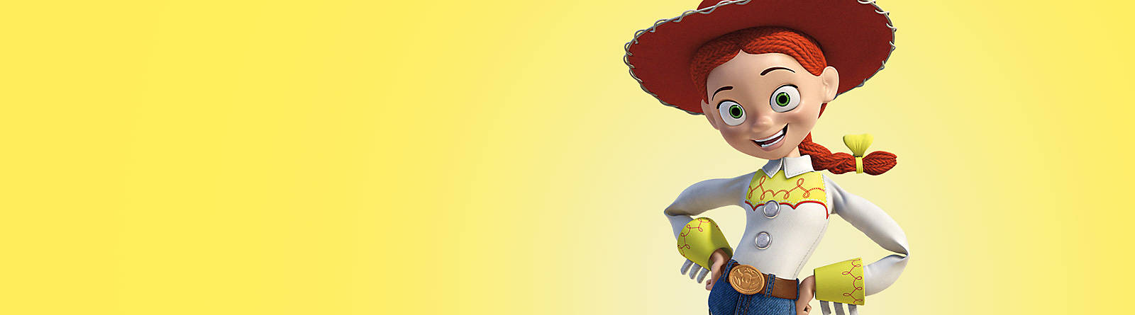 Jessie Yee-haw! Discover our range of Jessie from Toy Story including toys, collectibles, figurines and more