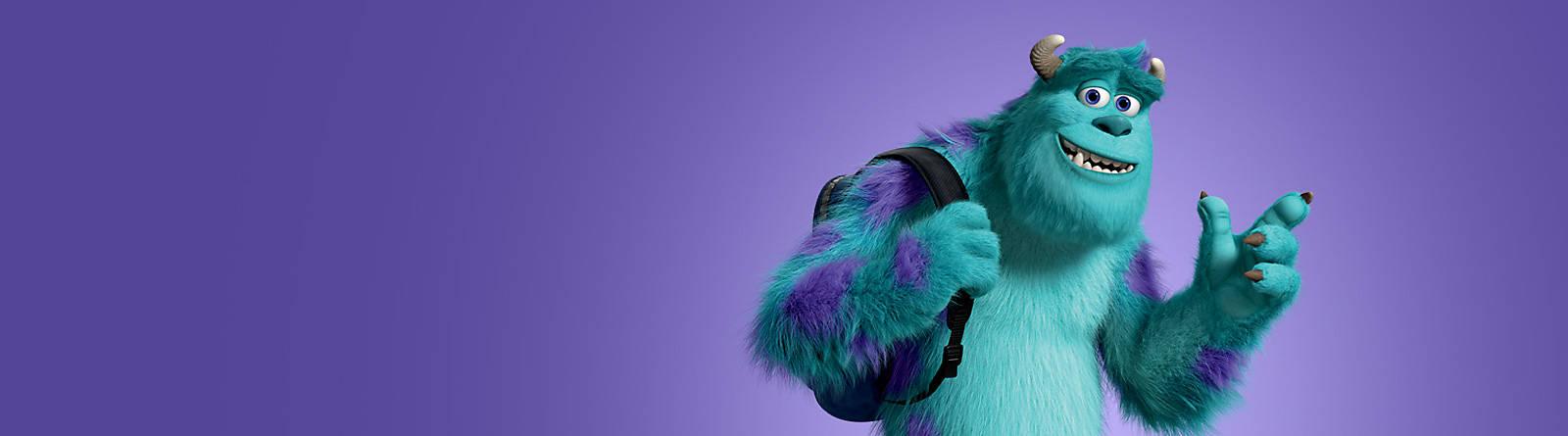 Sulli Sulli est le meilleur employé de l'usine à cris d'enfants, le plus terrifiant. Pourtant ce monstre poilu ressemble à une peluche !
