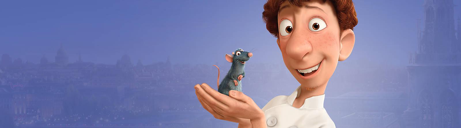 Ratatouille Suivez Rémy, petit chef du film Ratatouille, dans la cuisine de Gusteau ! Les produits à son effigie feront vibrer vos papilles !
