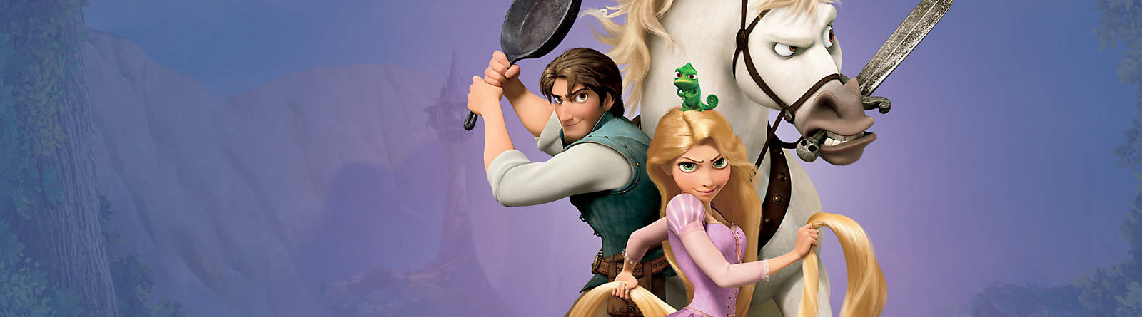 Tangled Let your hair down with our Rapunzel costumes, toys, playsets, clothing, collectibles and more