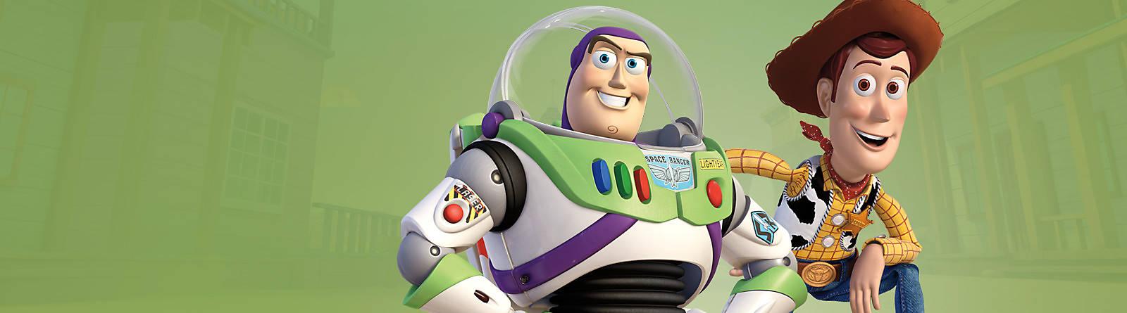 Toy Story Quand les jouets prennent vie, il se passe d'étonnantes histoires dans la chambre d'Andy ! Découvrez les héros et produits Toy Story.