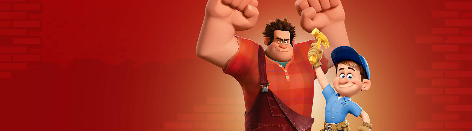 Wreck-It Ralph Discover our range of Wreck it Ralph merchandise featuring toys, figurines and more