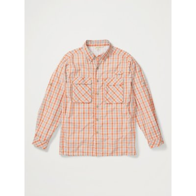 Men's Air Strip™ Check Plaid Long-Sleeve Shirt