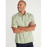 Men's Air Strip™ Check Plaid Long-Sleeve Shirt image number 3