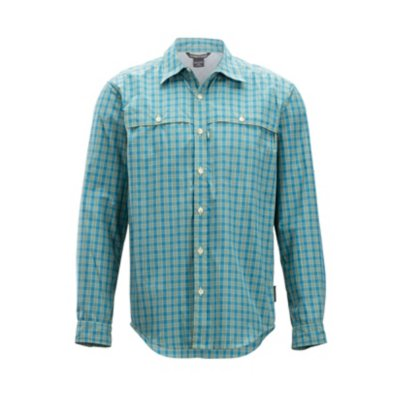 Men's Vuelo Gingham Long-Sleeve Shirt
